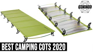 10 Best Camping Cots to Buy as Your Perfect Bed Away from Home