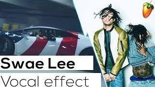 Swae Lee Vocal Effect (SR3MM) (POWERGLIDE) FL Studio Tutorial