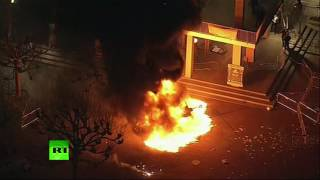 Riot breaks out at UC Berkeley amid protest of Breitbart editor's speech