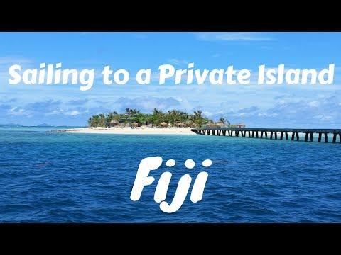 Sailing to a Private Island in Fiji - Tropic Love