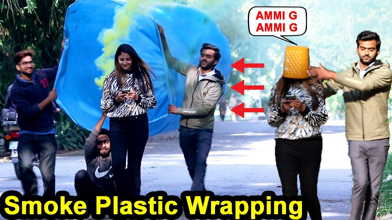 Plastic Wrapping People Prank - Gone Wrong | Waqas Rana | Pranks in Pakistan | Zero Brand | 2020