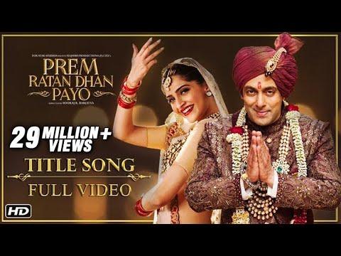 full video songs of prem ratan dhan payo itunes