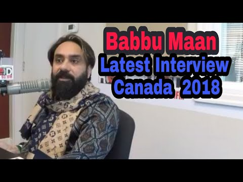 Babbu Maan Latest Interview Canada Red Fm Surrey