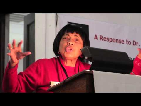 Dr. Dorothy Cotton - Part 3. CCT Symposium on Race, Faith and Our Future
