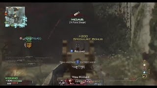 Im Back?! Where I Have Been! MW3 35 Gunstreak Moab!