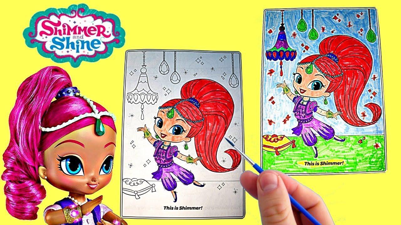 coloring shimmer shimmer and shine nick jr coloring page crayola markers - Nick Jr Coloring Book