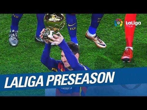 Laliga preseason 2016/2017: stars