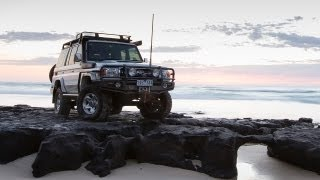 Watch the ARB equipped Toyota LandCruiser 76 Series in action on th...