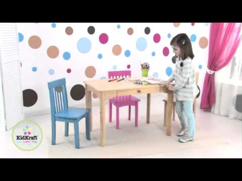 KidKraft Avalon Kids Table with Drawer | 26622 | 26612 | 16650 | 26633