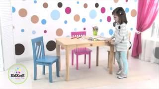 KidKraft Avalon Kids Table with Drawer | 26622 | 26612 | 16650 | 26633