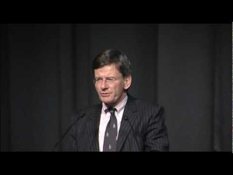 The Rt Hon Chris Finlayson, Minister for Culture & Heritage New Zealand speaks
