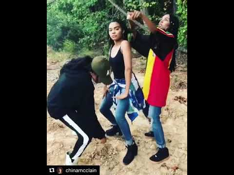 McClain sisters dance to Drake's Popstyle