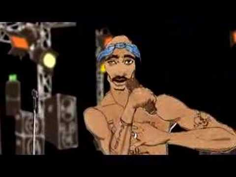 Nike Animated Wallpaper 2pac Animated Video Youtube