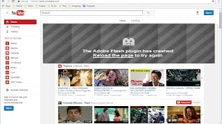 how to Fix Adobe Flash Player Blocked Error in Chrome Browser