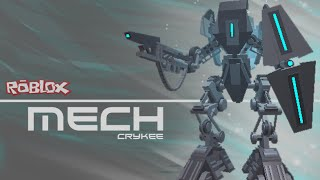 ROBLOX MECH (Speed Build by Crykee)