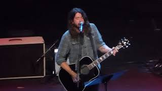 Dave Grohl - Cold Day In The Sun live @ Fox Theater , Oakland - May 11, 2018