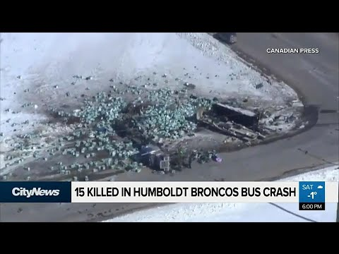 15 killed in Humboldt Broncos bus crash