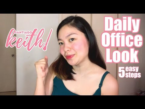 Daily Office Look (5 Easy Steps) | Keith Santiago