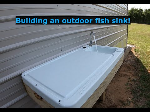 Ep #19 Fish Cleaning Station Build, Rock Drip Edge And Channel Updates!
