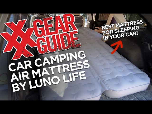 Luno Life Air Mattress Car Camping Sleep System Subaru Outback