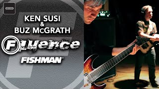 ken susi and buz mcgrath play through fluence modern humbuckers with esp 7 string guitars