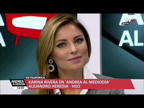 ANDREA AL MEDIODIA - KARINA RIVERA - 25/06/18 - LUNES 25 DE JUNIO DEL 2018
