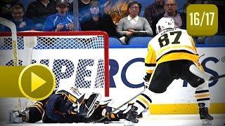 Sidney Crosby All Goals From 2016-2017 NHL Season. 44 Goals. (HD)