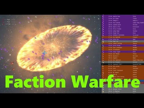 Introduction to Faction Warfare.  With BonusTitans!  Eve Online Live
