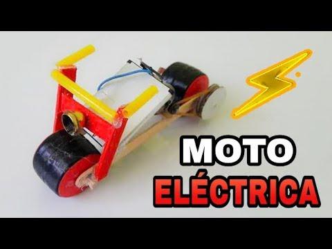 Cómo Hacer Una Moto Eléctrica Casera