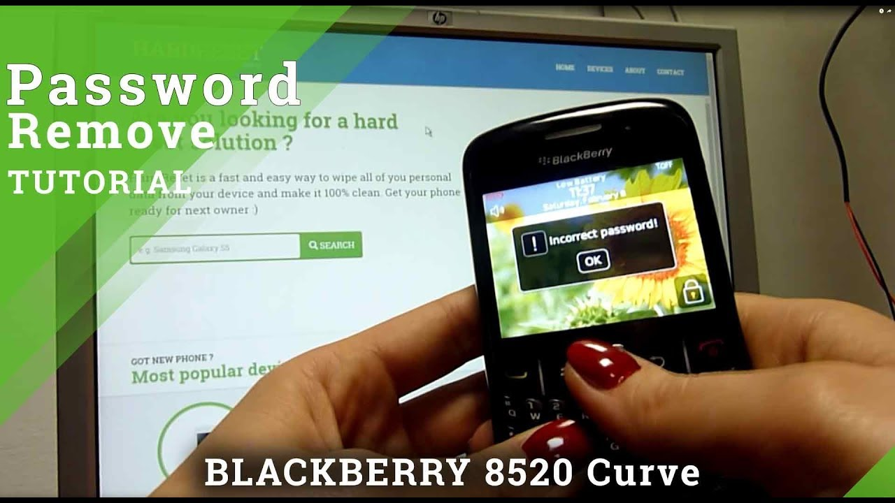 Hard Reset BLACKBERRY Passport - HardReset info