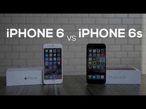 iPhone 6s vs iPhone 6 - Comparação