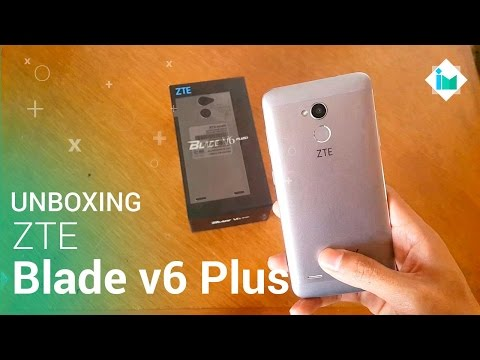 ZTE Blade V6 Plus - Unboxing en español