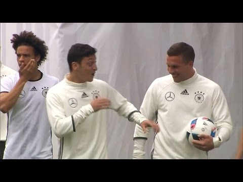 Germany Squad Train In Switzerland Ahead Of The European Championships