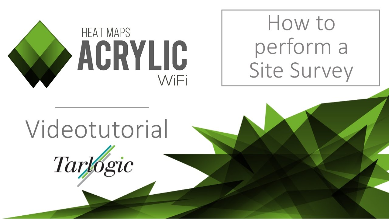 How to create a Wi-Fi Site Survey project - Video Tutorial