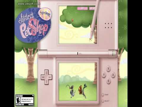 Nintendo Ds Game Littlest Pet Shop Spring Youtube