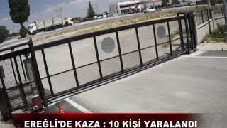 Ereğli'de Kaza 10 Kişi Yaralandı