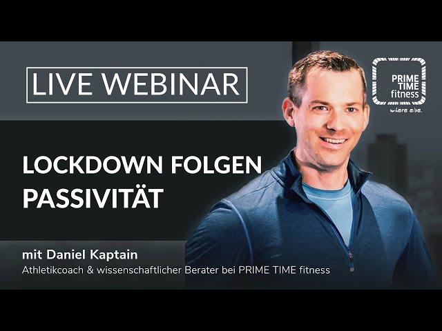 Der Lockdown und die Körperlichen Folgen (live Webinar)