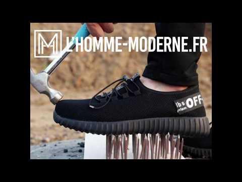 usa pas cher vente choisir authentique Découvrez Chaussure de sécurité indestructible - YouTube