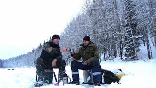 Щука на жерлицы Зимняя рыбалка на таежном озере