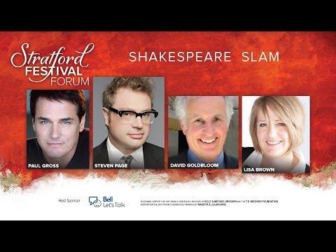2014 Shakespeare Slam   Stratford Festival Forum 2014