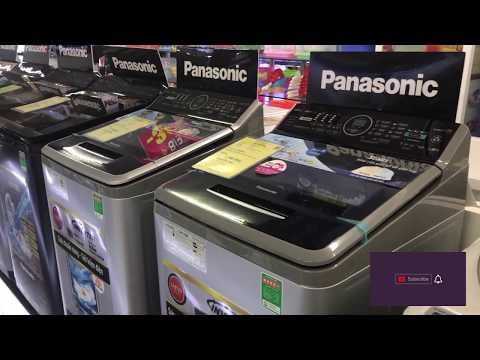 TOP 4 Máy giặt Panasonic cửa trên KG GIẶT TO giá hời đáng mua