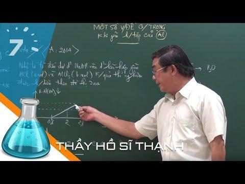 Hóa 12 Bài 29: Luyện Tập Tính Chất Của Nhôm Và Hợp Chất Của Nhôm | HỌC247