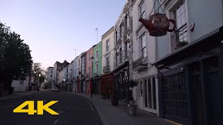 London Lockdown: Notting Hill【4K】