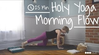 Video Holy Yoga Morning Flow: Gentle 25 min. Practice download MP3, 3GP, MP4, WEBM, AVI, FLV Maret 2018