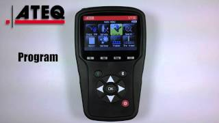 ATEQ VT56 TPMS Diagnostic Tool - Features and Functions