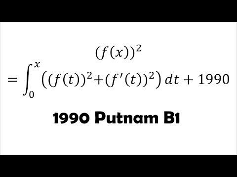 y' = ky in Putnam (1990 B1)