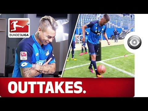 Kramaric's gum and Rudy's hair - behind the scenes with Hoffenheim
