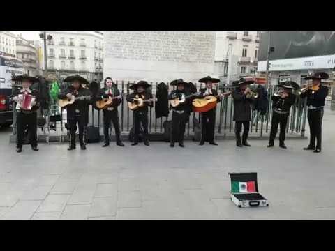 Mexican Street Band in Madrid | #19 SPAIN VLOG