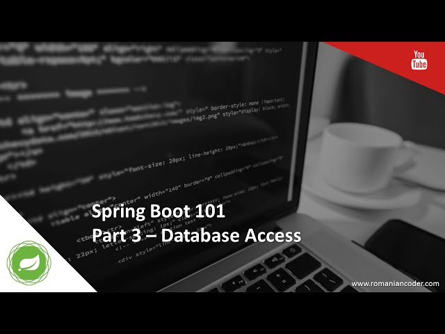 Spring Boot 101 (Part 3) - Database access