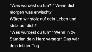 Panik - Was Würdest Du Tun?! (+ lyrics)